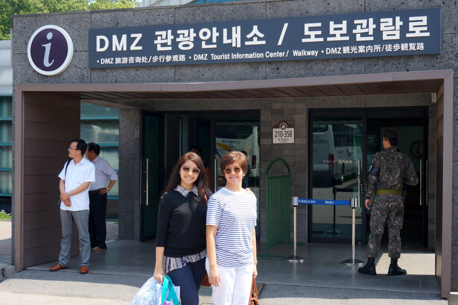 Seoul Travel Diary Day 2 A Day At The Dmz At The Edge Of History Pushy For Sushi