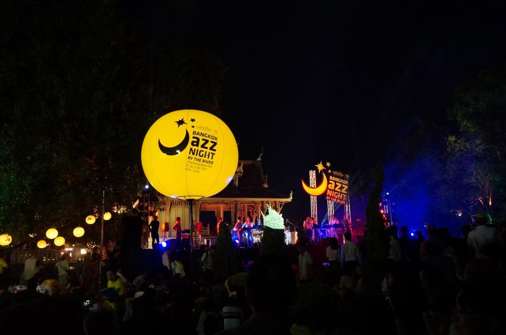 Bangkok Jazz Night by the River 2015 (Santichaiprakarn Park)