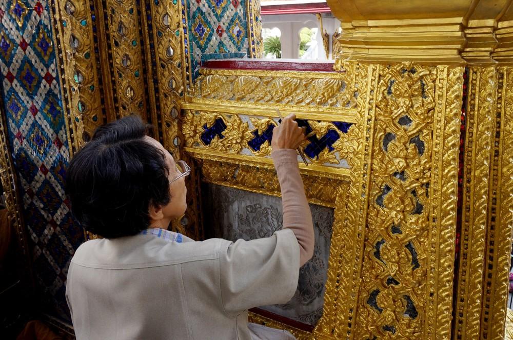 Wat Phra Kaew (Temple of the Emerald Buddha) restoration